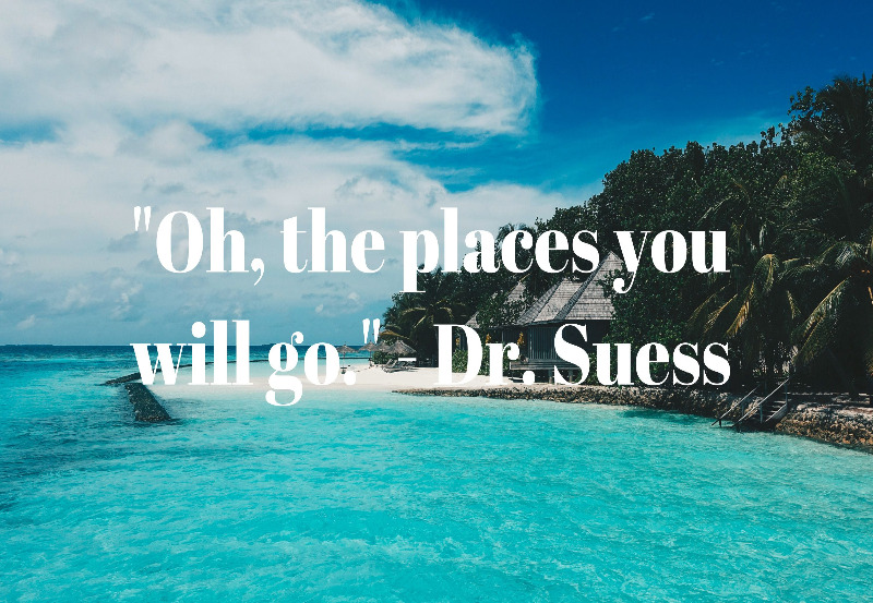 Travel Qquote by Dr. Suess