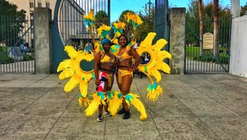 Yellow Masquerader Costumes